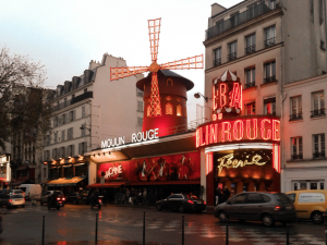Moulin Rouge visiting Paris in 3 days
