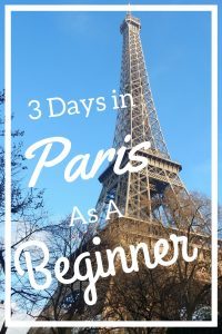 what to do in Paris in 3 days