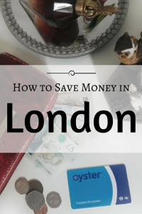 How to Save Money in London
