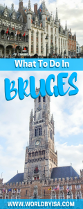What To Do In Bruges In One Day