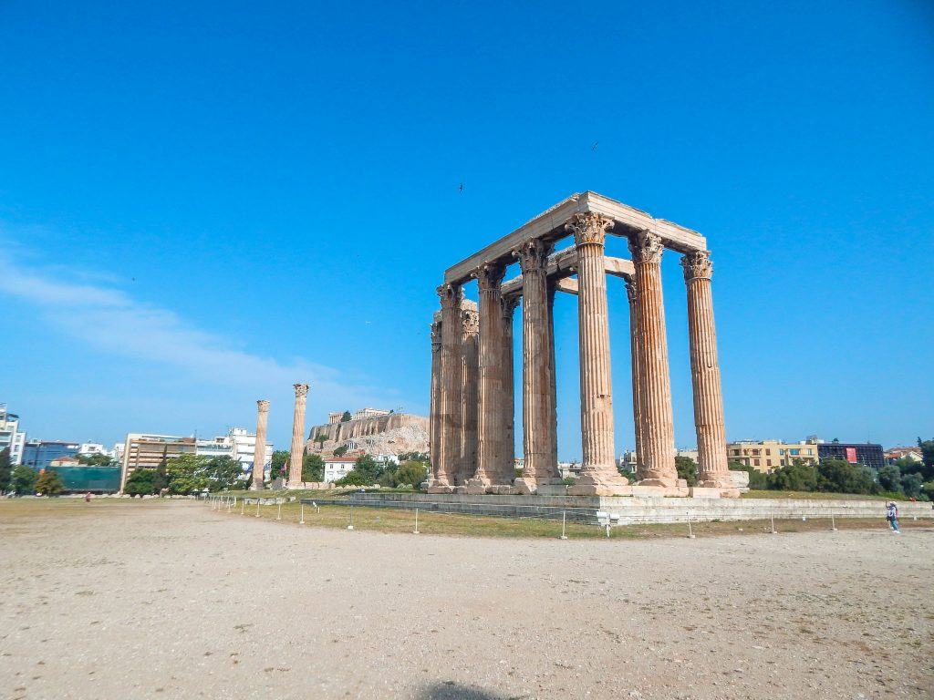 Temple of Olympian Zeus - Check here the best Greek monuments to visit in Athens