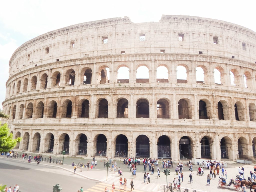 Colosseum Roman ruins in Rome - Colosseum, the Roman Forum and the Palatine Hills are definitely the most famous ancient Roman ruins in Rome, however, there are many more Roman buildings that adorn the city and its outskirts, but here in this post