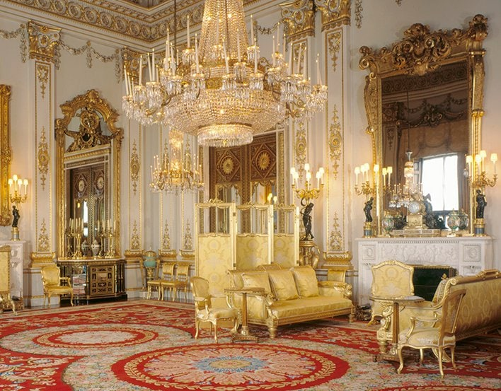 White Drawing Room Visiting the Buckingham Palace Inside