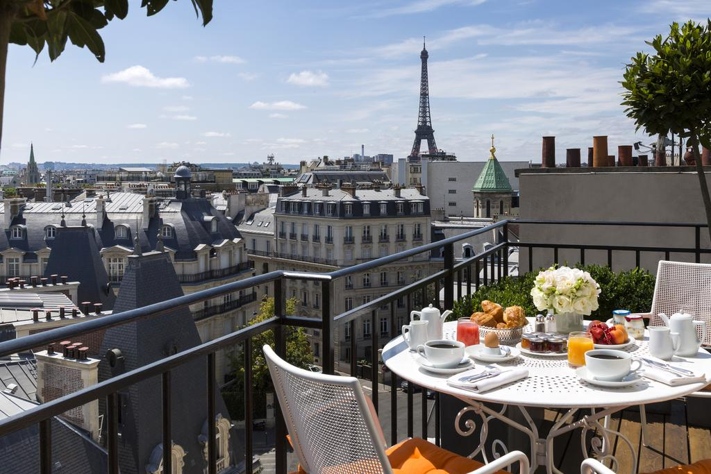 San Regis Hotels with Eiffel Tower View