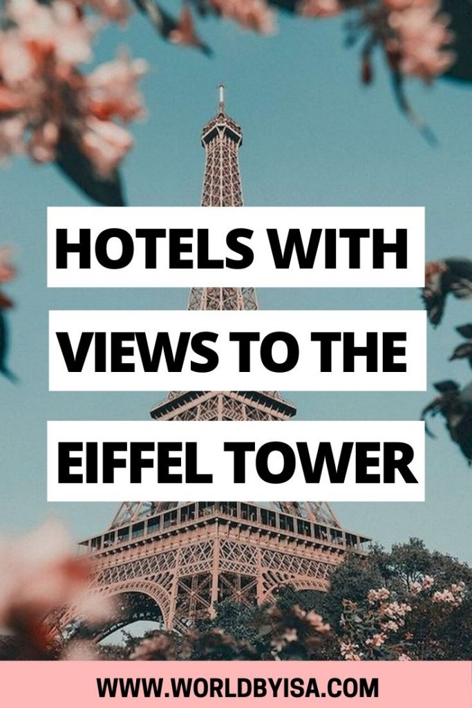 Visiting Paris is by itself, something magical, but imagine waking up and seeing the Eiffel Tower from your window! This is what we can call a room with a view right? This iconic movie scene can be part of your Paris experience for a price if you book one of these hotels with the Eiffel Tower view balcony mentioned below.