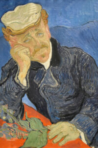 Portrait of Dr. Gachet musee d orsay