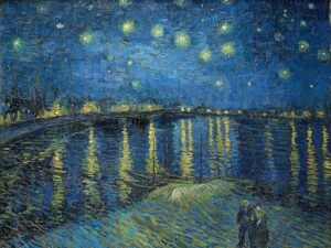 Starry Night Over the Rhône musee d`orsay