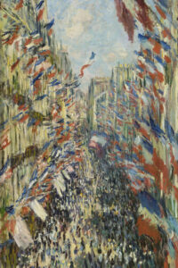 The Rue Montorgueil in Paris musee d orsay