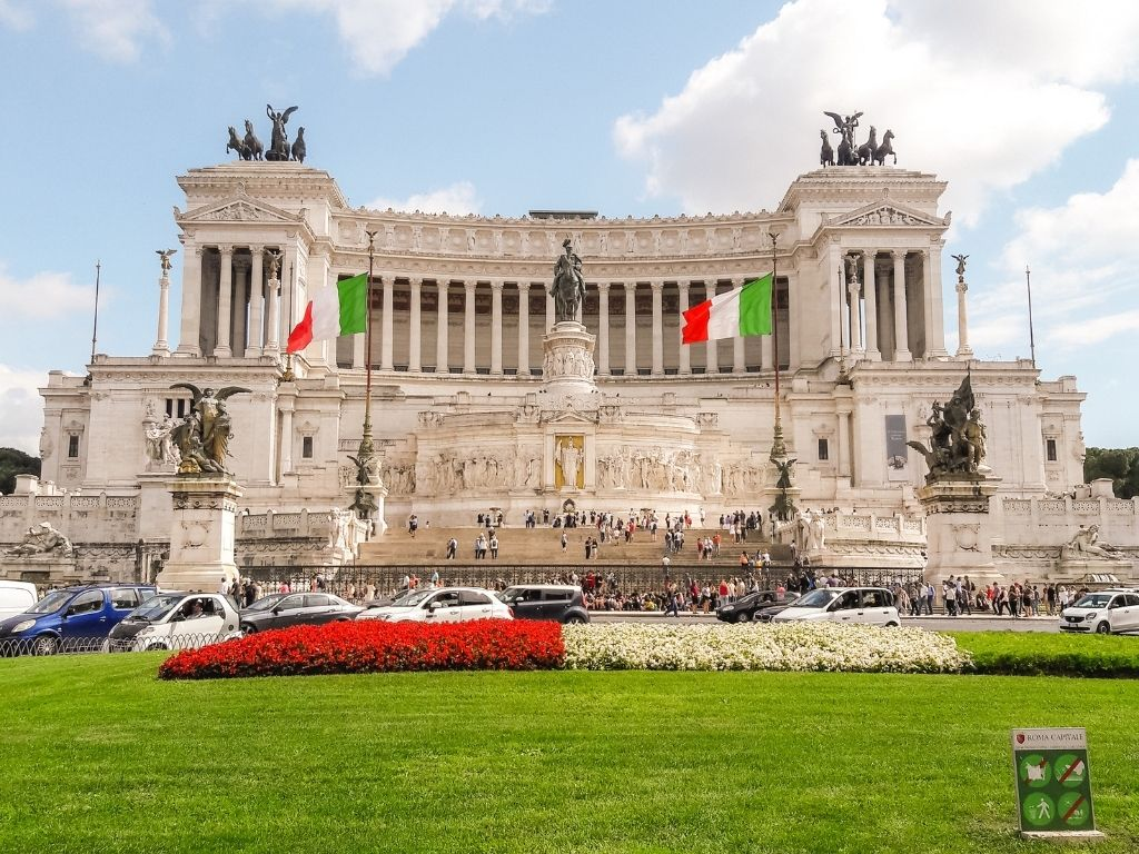 Victor Emmanuel II National Monument. It was built in honor of Italy's first King, Victor Emmanuel II, whose role in unifying Italy granted him the title of Padre della Patria (Father of the Fatherland.